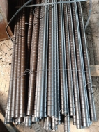 Дымогарные трубы котла c кольцевой накаткой 51x3,5 мм