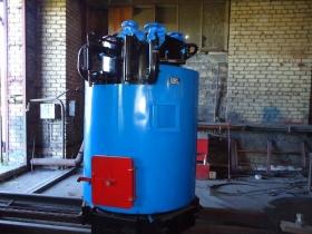 Котел стальной паровой жидкотопливный КСП-300 Лж