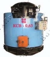 Газовый водогрейный котел КСВ-0,63 Гн