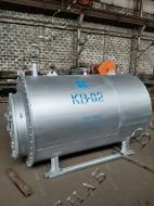 Стальной газовый водогрейный котел КВ-0,2 Гн