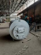 Стальной водогрейный котел КВ-0,2 на твердом топливе
