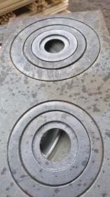 Плиты садовые цельные, с 2-мя конфорками, с 1-ой конфоркой