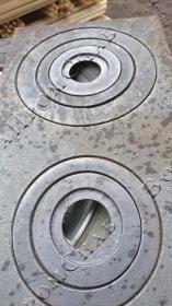 Плита садовая (2 конфорки) ПС-2 500x340